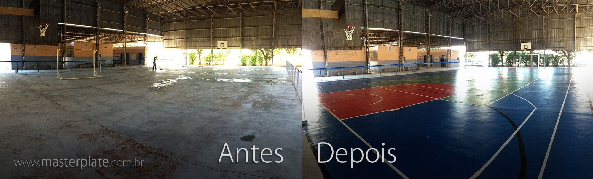 cdbb56657e Reforma de Quadra Poliesportiva